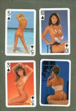 Pin-up vintage Non-standard playing cards. Girls 1425